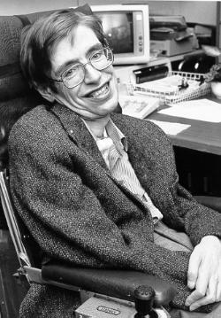 Stephen Hawking, el físico que lleva luchando años contra la ELA. cLÍNCIA san Vicente nos lo cuenta