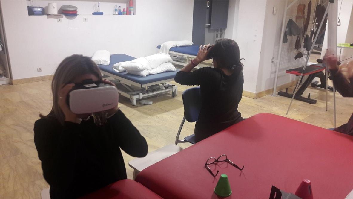 Nuevas Tecnologías en Neurorrehabilitación. .Clínica San Vicente