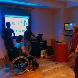 Escala Fugl Meyer:automatización con Kinect. Clínica San Vicente, Universidad Carlos III y URJC